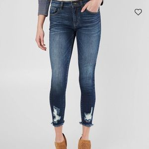 Kancan Signature Mid-Rise Skinny Ankle Jean
